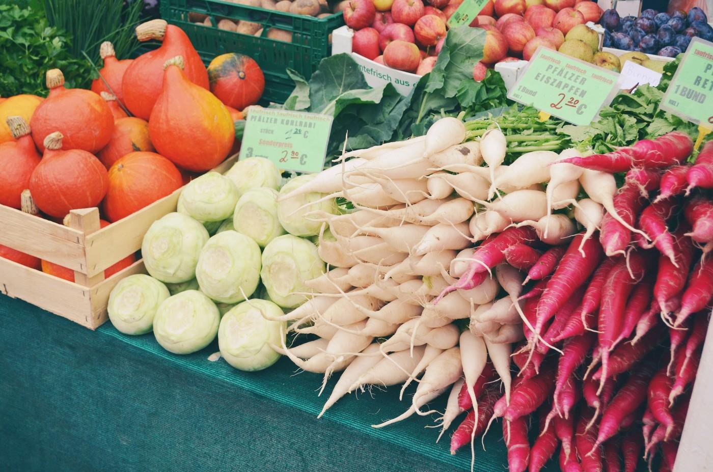 Der Mainzer Wochenmarkt ist eine Lieblingslocation von Carina von Foodistas