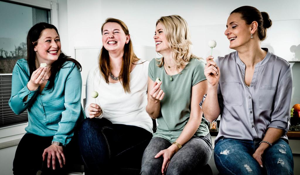 Foodistas – vier Schwestern bloggen: Jasmin und Marie-Christin Sotta mit Tanja und Carina Farwick