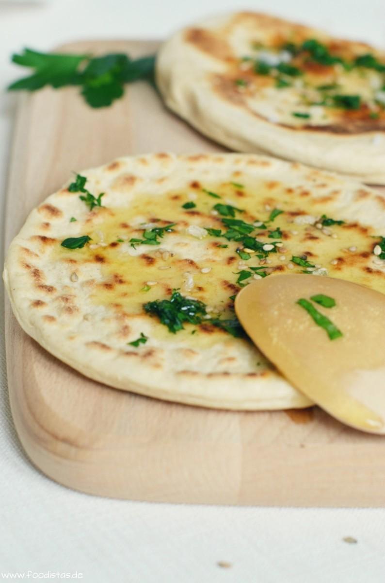 Indisches Naan Brot | foodistas.de