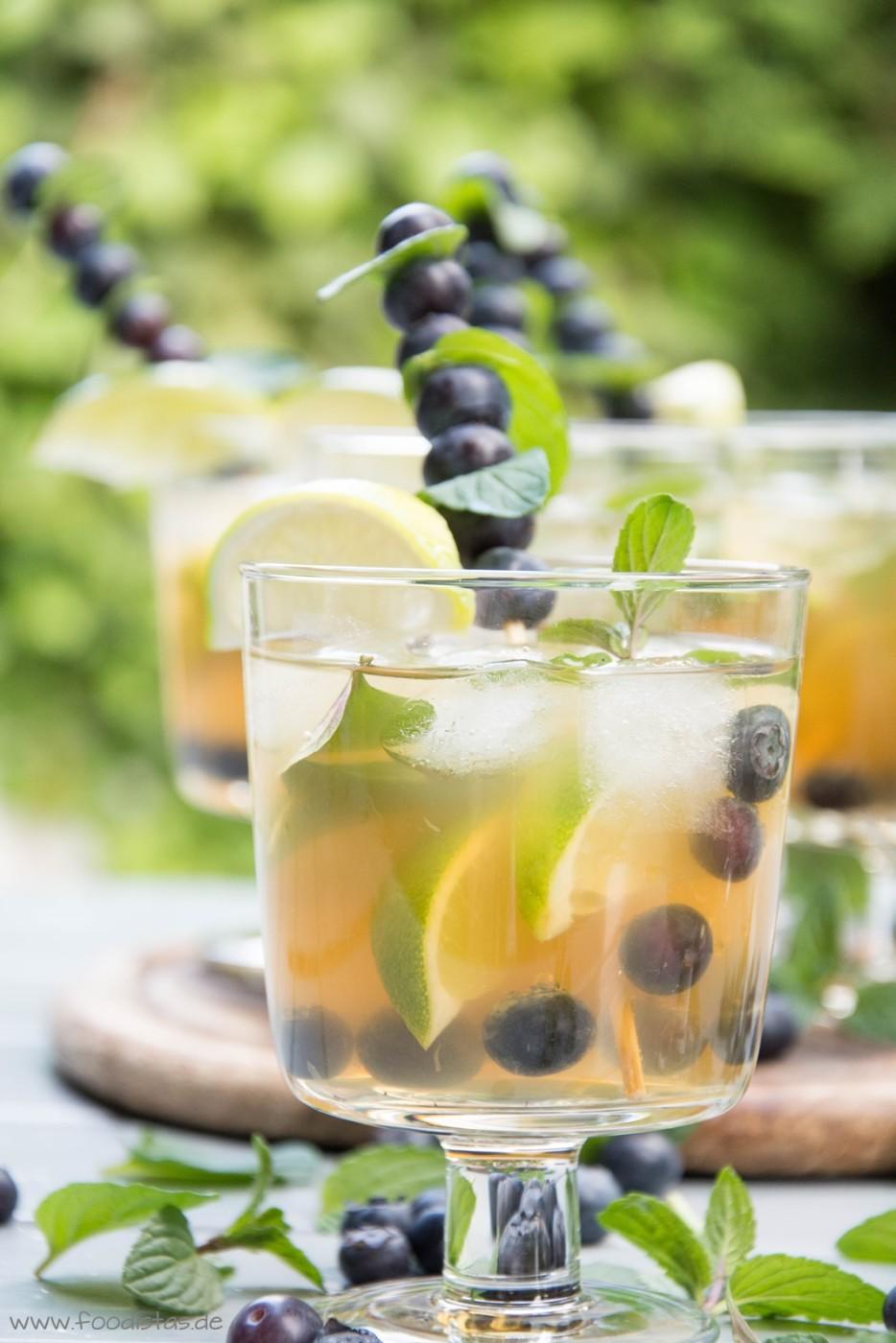 Blueberry Mojito von den Foodistas | foodistas.de